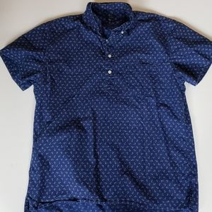 J.Crew Large 3 Button Short Sleeve Polo